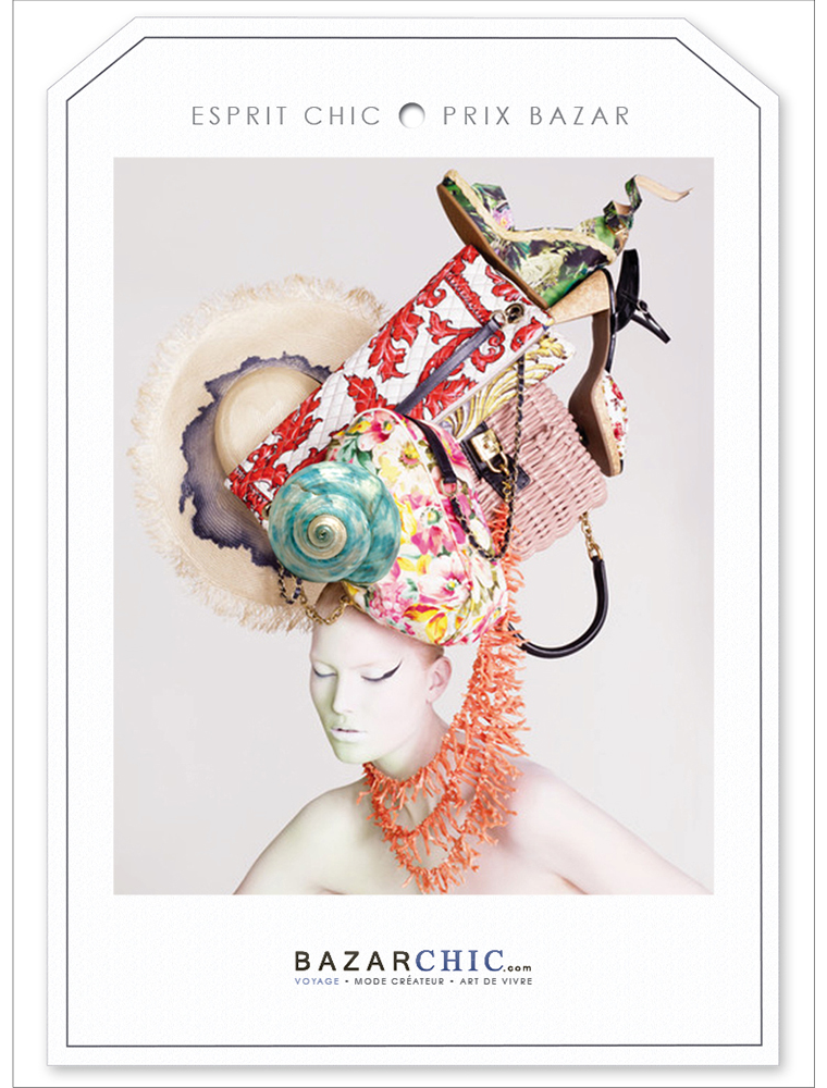 Campagne Print Bazarchic - créée par Romain Cotto, Directeur Artistique 360 Print/film/digital