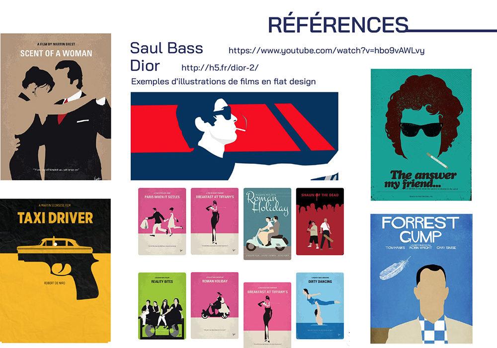 dossier références make my day - créé par Romain Cotto, Directeur Artistique 360 Print/film/digital