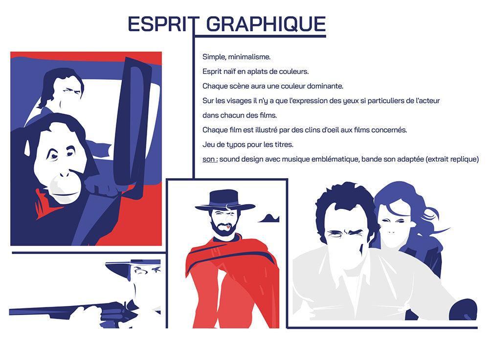 dossier univers graphique make my day - créé par Romain Cotto, Directeur Artistique 360 Print/film/digital